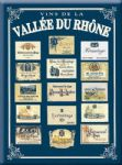 Chic Style French Metal Vallee du Rhone Wine Sign